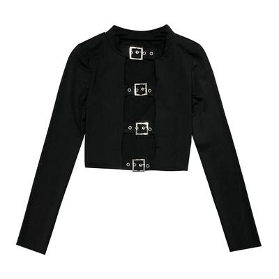"""FOUR BUCKLE"" BARING LONG SLEEVE"