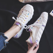 """LOLLIPOP"" LEATHER SNEAKERS"
