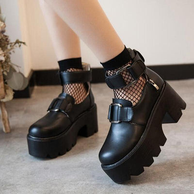 """PUNK PLATFORM"" SHOES"