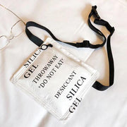 """SILICA GEL MINI"" HANDBAG"