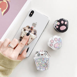 """GLITTER MANIA"" POP PHONE GRIP"