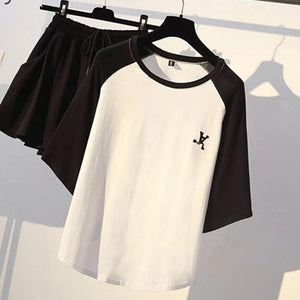 """PARKER"" T-SHIRT AND SHORTS SET"