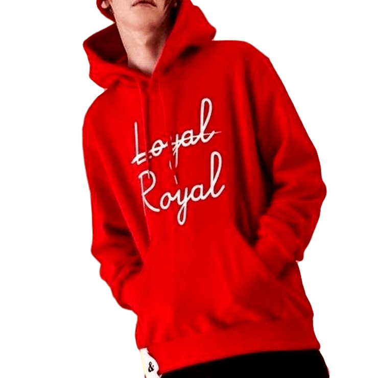 """NOT LOYAL, ROYAL"" HOODIE"