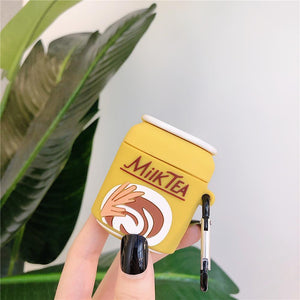 """BARLEY MILK TEA"" AIRPOD CASE"