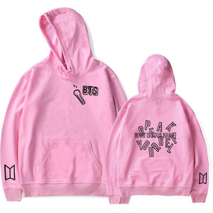 """BTS WHAT IS YOUR NAME"" HOODIE"