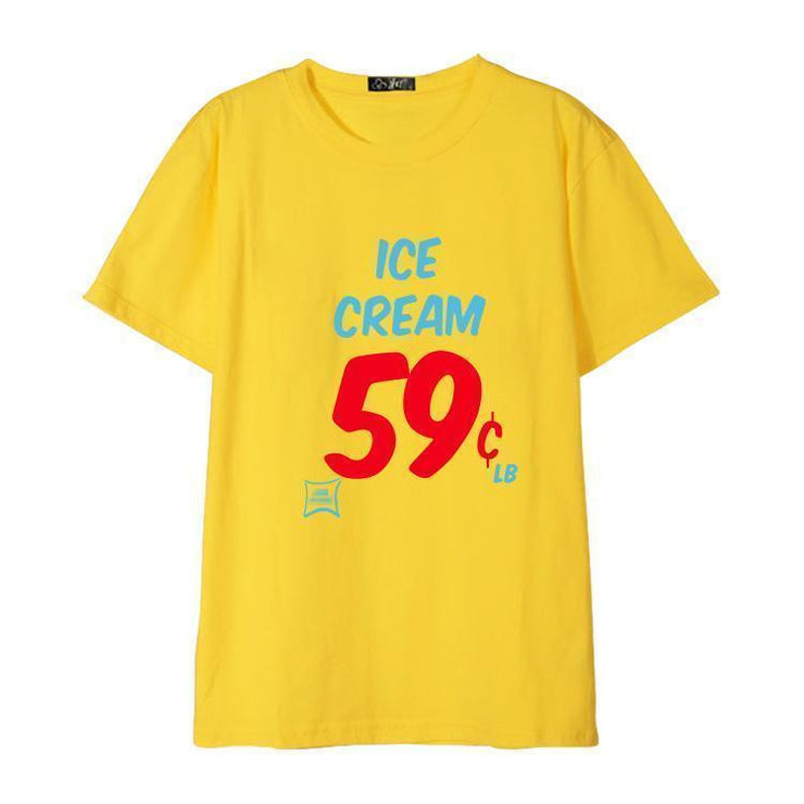 """ICE CREAM"" T-SHIRT"