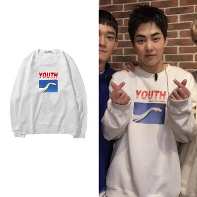 """YOUTH"" SWEATER"