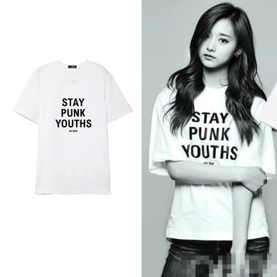 """STAY PUNK YOUTHS"" T-SHIRT"