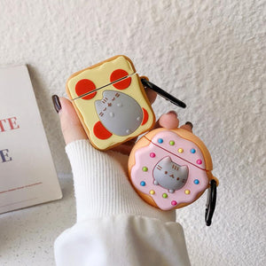 """YUMMY PUSHEEN"" AIRPOD CASE"