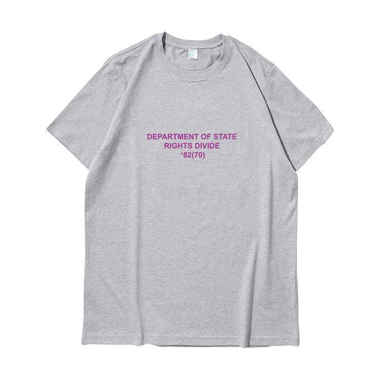 """DEPARTMENT OF STATE"" T-SHIRT"