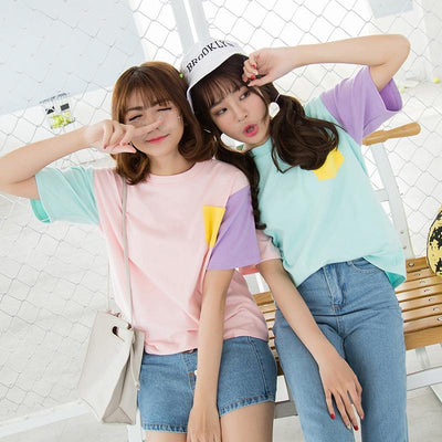 """PASTEL PATCHES"" T-SHIRT"