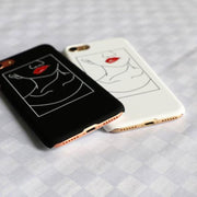 """LIP BITE"" IPHONE CASE"