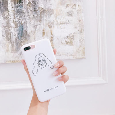 """MADE WITH LOVE"" IPHONE CASE"