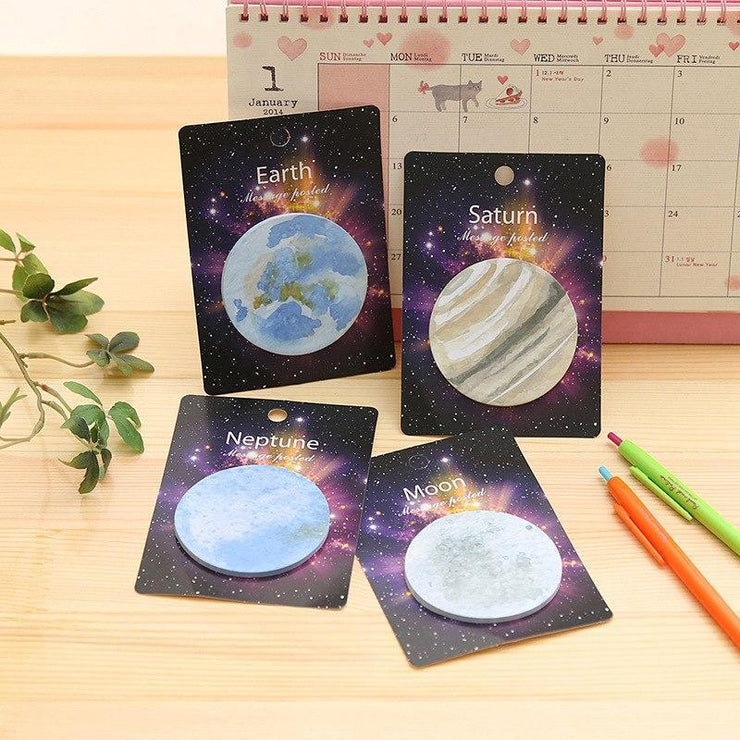"""PLANETARY"" STICKY NOTES"