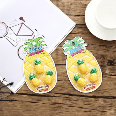 """PINEAPPLE"" ERASERS"