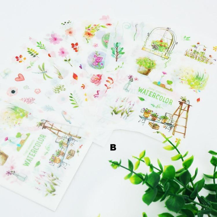 """PLANT"" STICKERS"