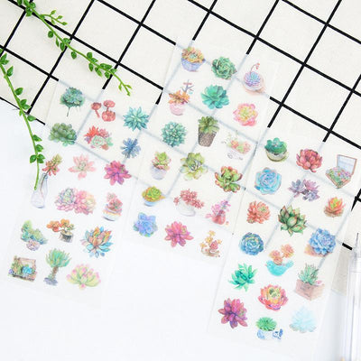 """SUCCULENT"" STICKERS"