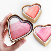 """HEART"" HIGHLIGHTER/EYESHADOW"