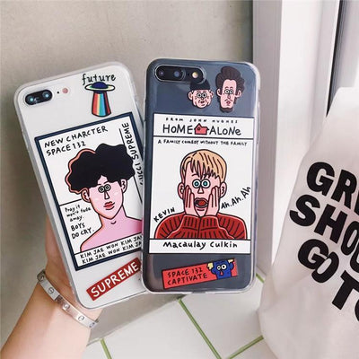 """CHARACTERS"" IPHONE CASE"