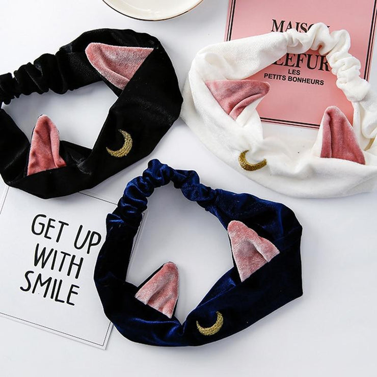 """SAILOR MEOW"" HEADBANDS"