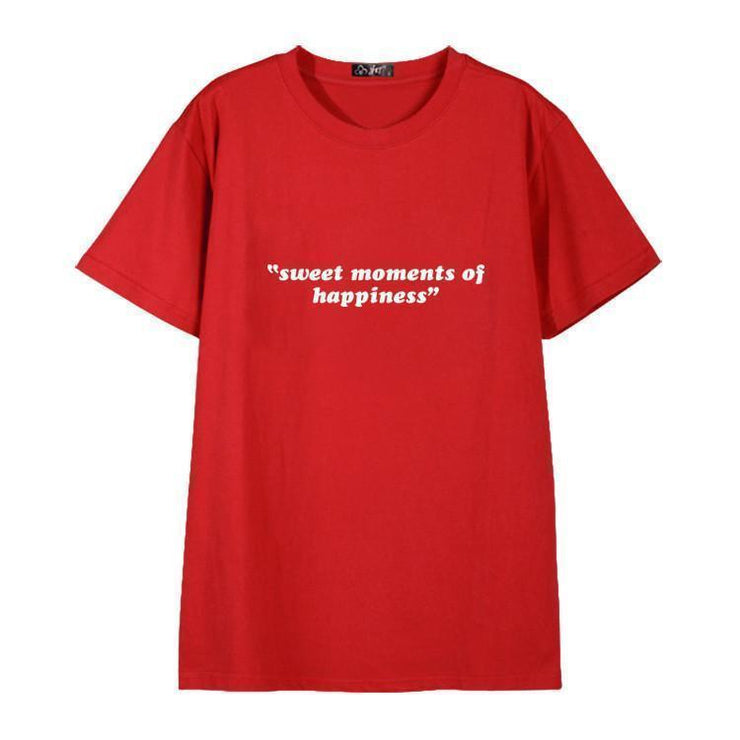 """SWEET MOMENTS OF HAPPINESS"" T-SHIRT"