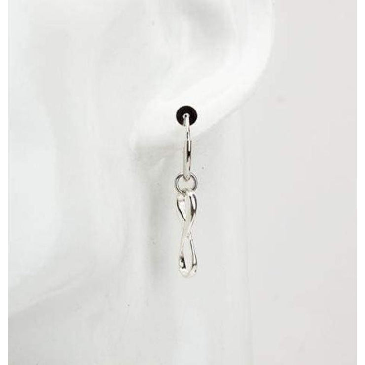 """INFINITY"" EARRINGS"