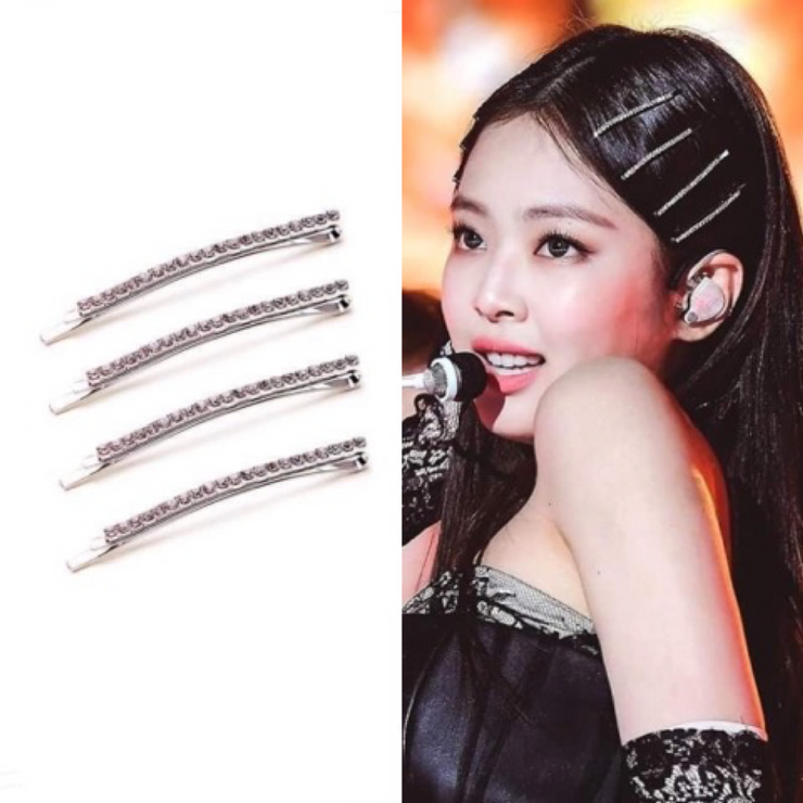 """TWINKLE"" 4 PIECE HAIR CLIP"