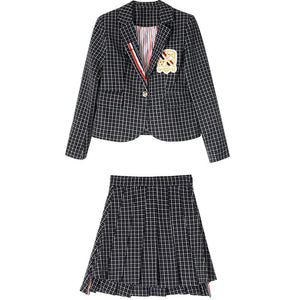 """CHIC"" BLAZER & SKIRT SET"