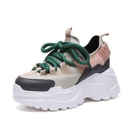 """I'M OUTDOORSY"" SNEAKERS"