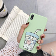 """BOBA CATS"" IPHONE CASE"
