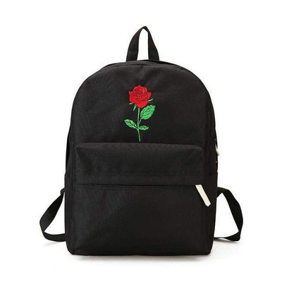 """ROSEY"" CANVAS BACKPACK"