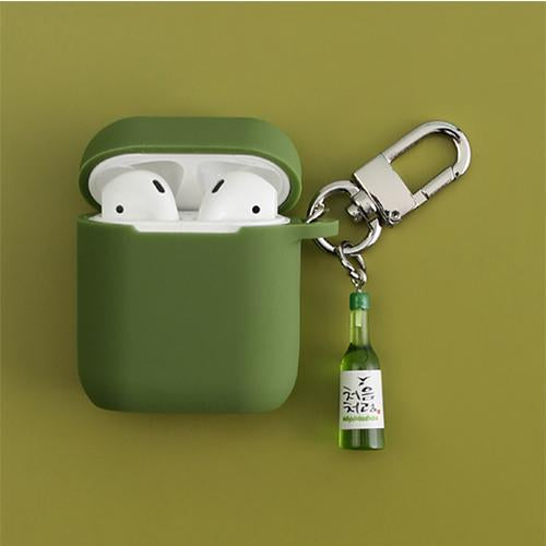"""KOREAN ALCOHOL"" AIRPODS & AIRPODS PRO CASES"