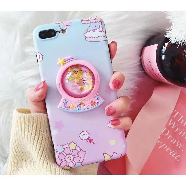 """UNICORN SPARKLE"" IPHONE CASE"