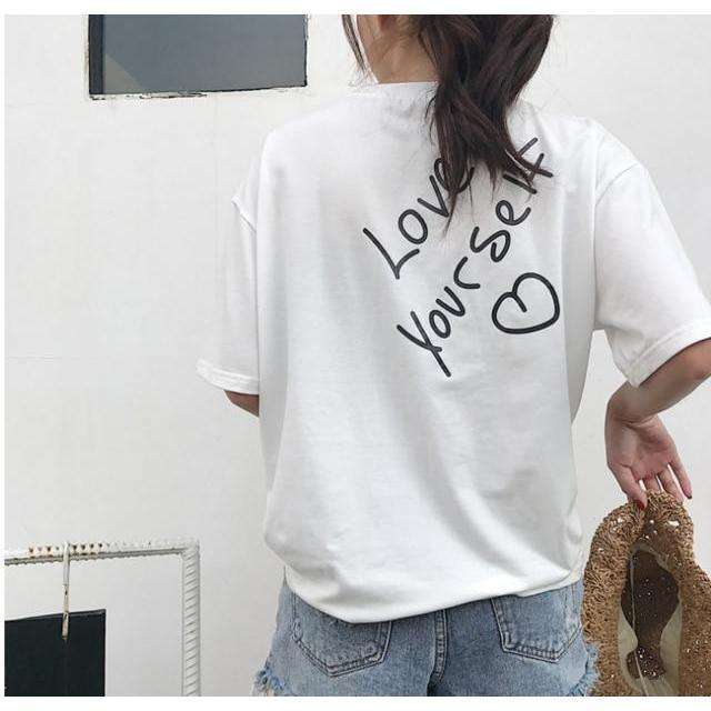 """LOVE YOURSELF <3"" T-SHIRT"