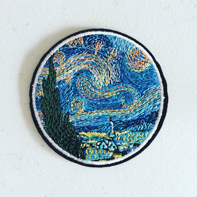 """STARRY NIGHT"" PATCHES"