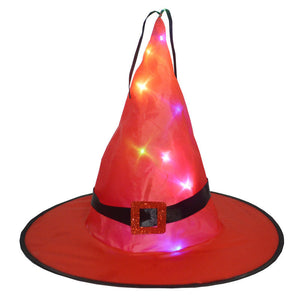🎃Limited Time Special Only $6.77🎃 Glowing Witch Hat Hanging/Wearable