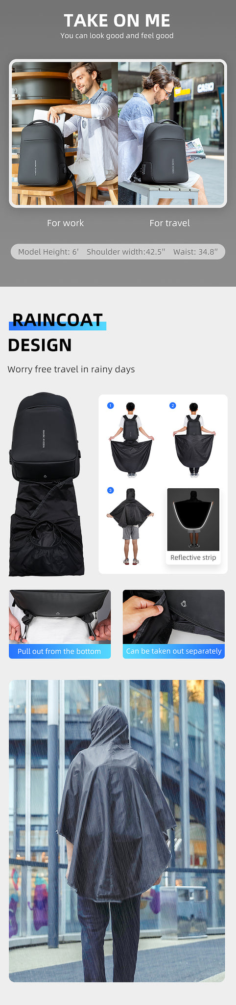 why to use anti theft laptop backpack