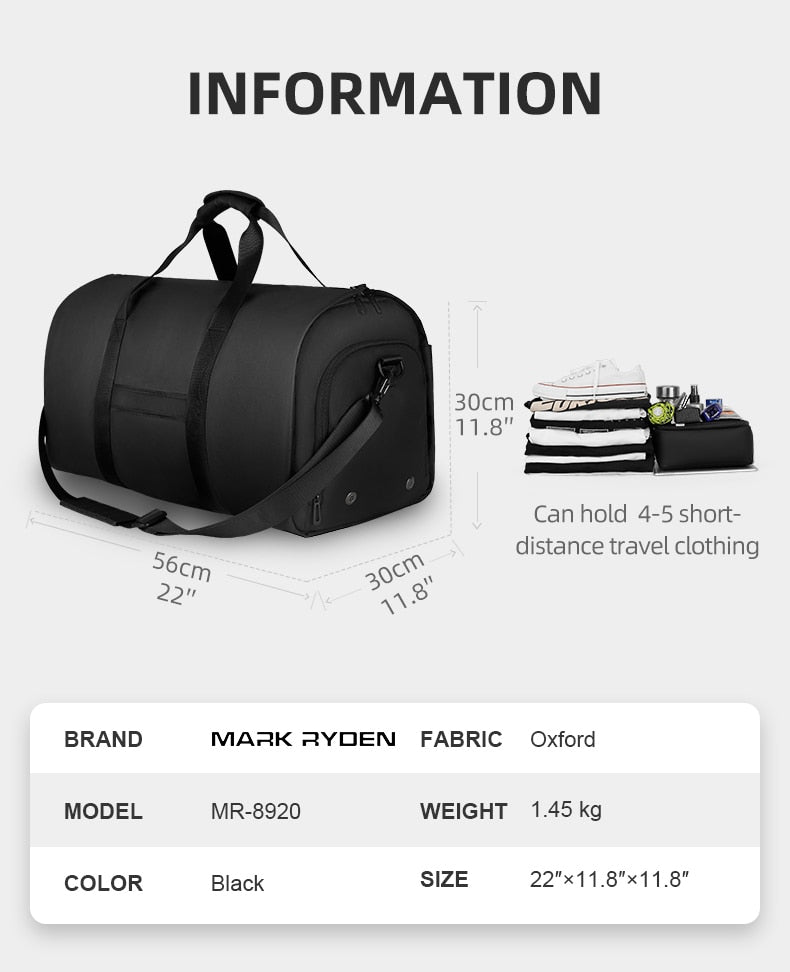 duffel travel for men
