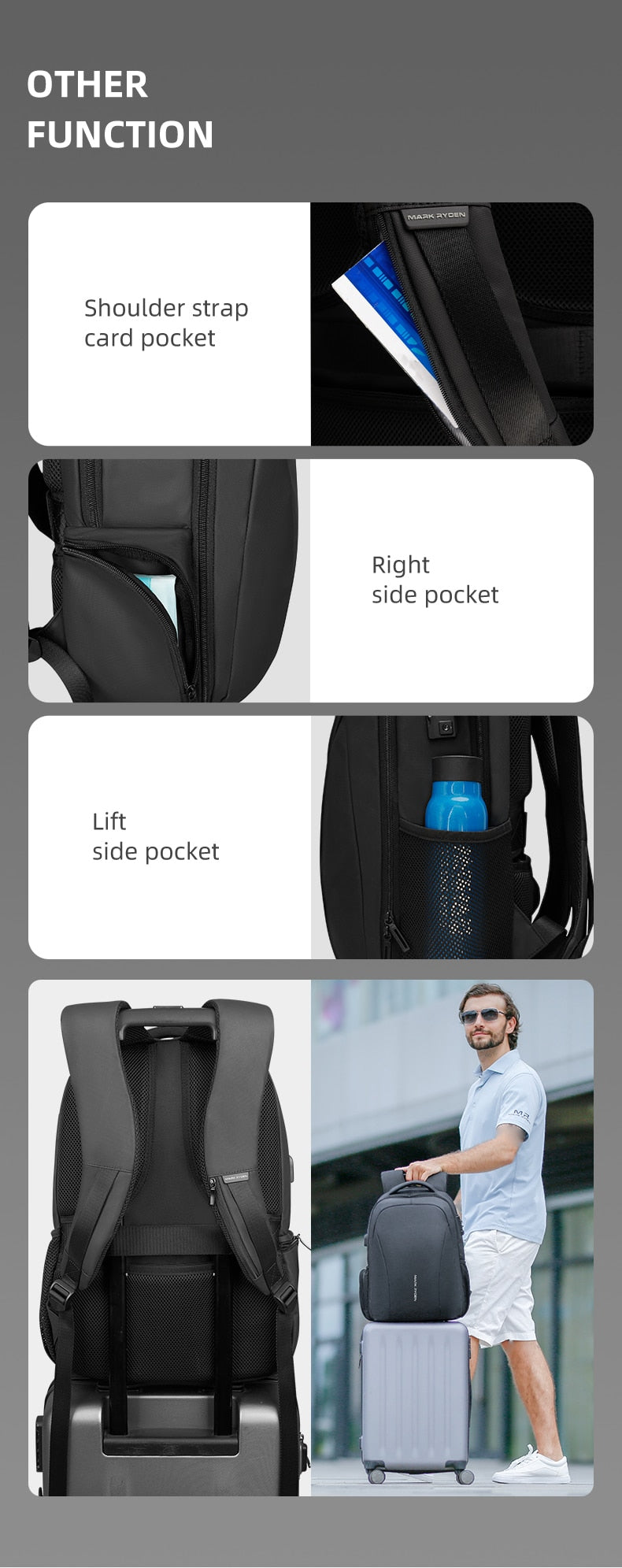 anti theft backpacks best
