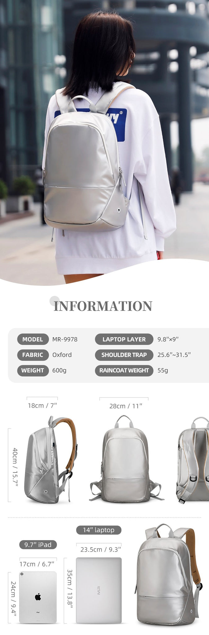 small backpack for women