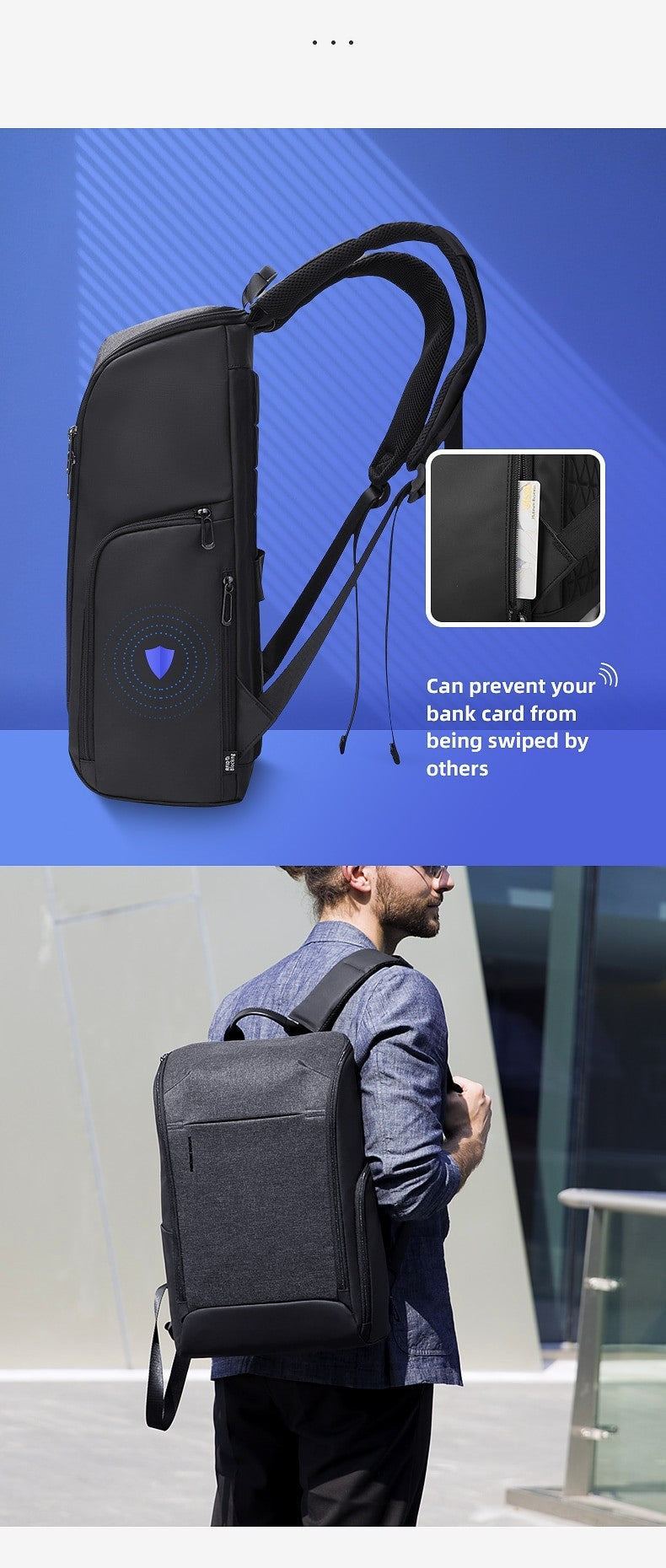 anti-theft laptop backpack 2020