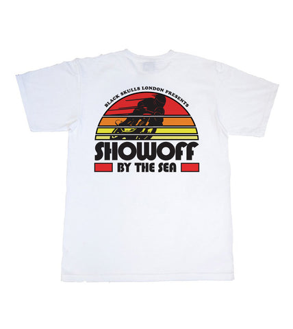 80S SUN SET SHOW OFF TEE  ( limited run )