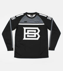 BSL MX JERSEY MADE IN THE UK (BLACK AND GREY)