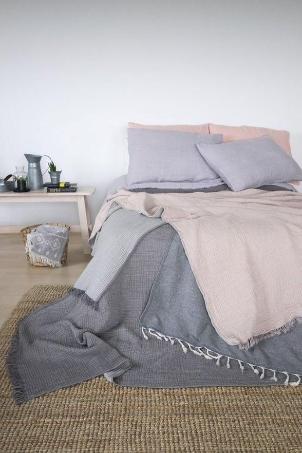 Waffle Bed Cover