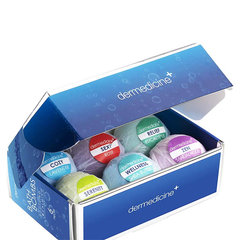 6-Piece Bath Bombs Gift Box Set (4456168751240)