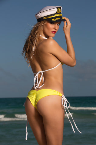Sail Away Eco Bikini Bottom