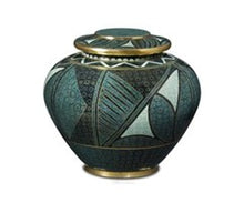 Load image into Gallery viewer, Emerald Anaszai Cloisonné Urn