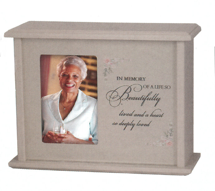 Beautiful Life Photo Urn