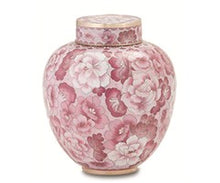 Load image into Gallery viewer, Cameo Rose Cloisonné Urn