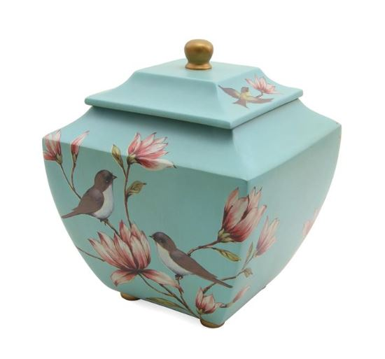 Magnolia Songbirds Urn